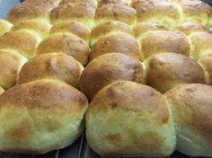 Homemade Bun Homemade Buns, Bread, Food, Homemade Rolls, Homemade Bagels, Brot, Essen, Baking, Meals