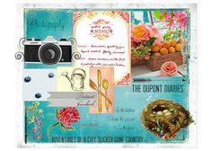 BYW Moodboard by KirstenNoel, #blogboss decor8eclasses.com  Moodboard food / photography