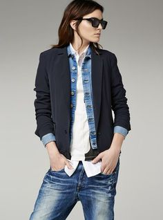G-Star RAW — Beck Bomber Blazer - Women - Jackets