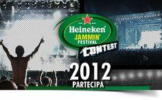 Heineken Jammin Festival - contest 2012
