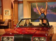 CAR-E-OKE!!!!!  THIS IS GREAT!!!!  JLO AND MEREDITH VIEIRA AND HODA KOTB