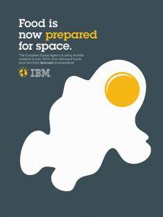 ダブルイメージがお見事な、IBMの広告 - ARTRICKS(アートリックス)