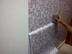 Papel de parede lavável Pastilhas - YouTube