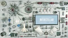 Production Design Oscar nominee title card for Interstellar by Henry Hobson