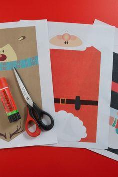 Cómo hacer Tarjetas Navideñas para Imprimir