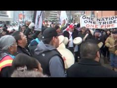 Idle No More - Canada Place - Edmonton