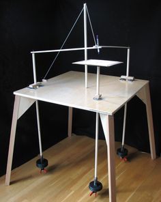 How to Make a Three Pendulum Rotary Harmonograph via www.wikiHow.com