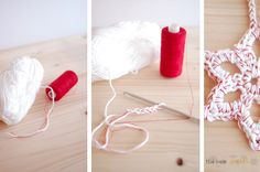 The new crochet: Fancy up your yarn. Mind blown!