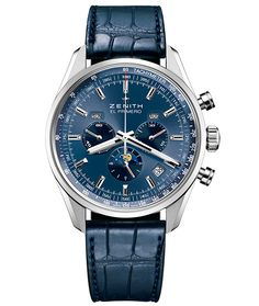 ZENITH El Primero 410 Men's Watch. Visit our stores or shop online at www.cellinijewelers.com today.