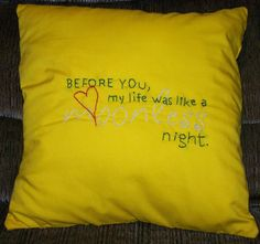 Twilight Inspired Moonless Night Pillow by ColoradoComfort on Etsy