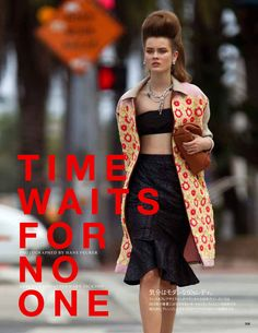 Time waits for no one...