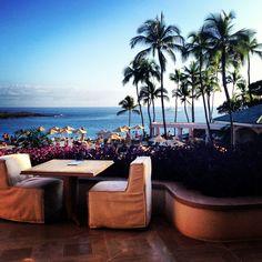 Sunset and Dinner at #ManeleBay Four Seasons in #Lanai, #Hawaii! #hawaiilife #lanailife #aloha  www.hawaiilife.com