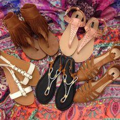 OMG. Shoes. #TuesdayShoesday #Sandals #SummerForever //FRINGE SANDALS!!!!