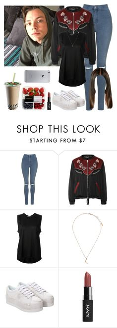 """""""Lazy day with Ashton. -----> *Cynthia."""" by imaginegirlsdsos ❤ liked on Polyvore featuring Topshop, Isabel Marant, Acne Studios and Jeffrey Campbell"""