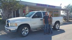 BRETT's new 2004 RAM  1500! Congratulations and best wishes from Benny Boyd Motor Company - Marble Falls and DEE NIXON.