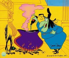 """A cup of tee-a. A cookie and you-hoo."" Bugs Bunny Witch Hazel"