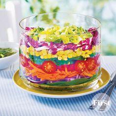 Seven-Layer Garden Salad   First for Women