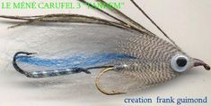Méné Carufell 3 Fly Tying Patterns, Streamers, Montage, Fly Fishing, Salmon, Paper Streamers, Camping Tips, Leis, Ice Sheet