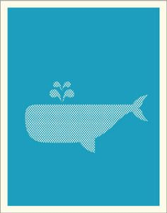this site has lots of simple, inexpensive posters that would be cute framed in a nursery