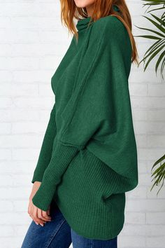 Cupshe Pushing the Limit Irregular Casual Sweater