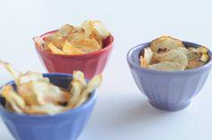 Cassava Chips 3 Ways http://fivefocus.ca/cassava-chips-3-ways/