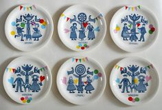 folklore and fun plates