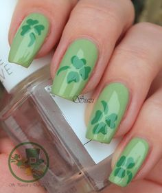 Holiday Nails - St. Patrick´s Day (version 1)