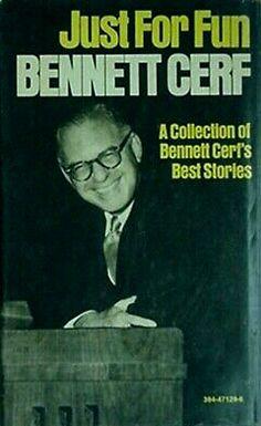 Bennett Cerf, Movies, Movie Posters, Fun, Film Poster, Films, Popcorn Posters, Film Posters, Movie Quotes