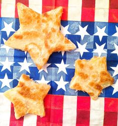 These star shaped quesadillas are the perfect snacking size.