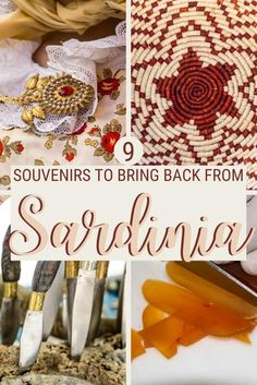 Shopping in Sardinia can be a lot of fun. Read this post for the best Sardinia souvenirs that you should bring home with you and for tips on where to buy them | Souvenirs from Sardinia | Sardinia #sardinia #shopping via @c_tavani