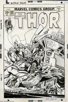 Thor #237 by Gil Kane and John Romita