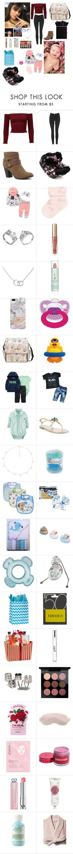 """Spending the day with Eva and Oliver. ~Kelsey"" by xx-us-anxns-xx ❤ liked on Polyvore featuring Calvin Klein, Too Faced Cosmetics, Cartier, Recover, Petunia Pickle Bottom, Giuseppe Zanotti, The M Jewelers NY, Gymboree, Carter's and Munchkin"