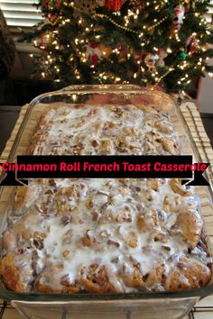 Cinnamon Roll French Toast Casserole – Nurse Frugal Food Recipes For Dinner, Food Recipes Deserts What's For Breakfast, Breakfast Items, Breakfast Dishes, Breakfast Recipes, Morning Breakfast, Breakfast Dessert, Christmas Breakfast Casserole, Breakfast Pizza, Cinnamon Roll Casserole