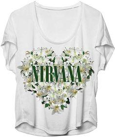 Nirvana Floral Heart Jr Dolman T-shirt - Love the style! - http://www.band-tees.com/store/N_00400_279!FEA/Nirvana+Floral+Heart+Jr+Dolman+T-shirt
