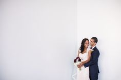 A simply fantastic shot of the new Mr. and Mrs. | Anika London Photography