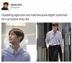 Is this true? I feel like this is one of those trolls that are probably actually true in real life because of how freaking beautiful Tae actually is. HES SO BEAUTIFUL.