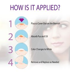 Cover, hide & heal pimples with clear, drug-free, non-drying acne stickers. Made in USA. See results in 1-2 days!