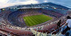 Camp Nou, FC Barcelona #neverhaveiever @StudentUniverse