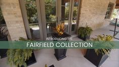 The Fairfield Collection has been our bestselling planter of all time and with good reason. With its classic inset panels and defined lines, this timeless collection is a must-have for your outdoor space. Patio Planters, Front Entrances, Architecture Details, All About Time, Plants, Outdoor, Collection, Space, Classic