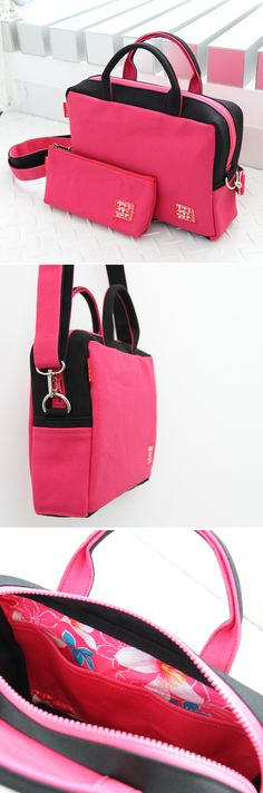 Canvas 2way bag