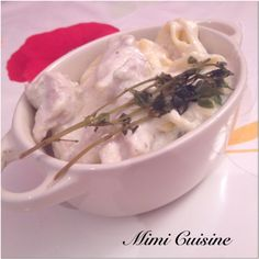 Poulet Courgettes sauce mascarpone #Cookeo - Mimi Cuisine