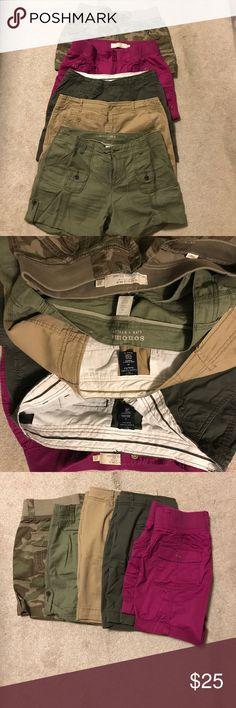 Summer Shorts Lot Size 10 - 5 pairs Summer Shorts Lot Size 10 5 pairs Shorts