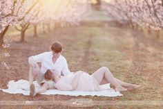 love this pose. Cherry blossom trees <3