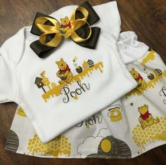 """The perfect gift for a baby shower!    """"Sometimes the smallest things in life take up the most room in your heart""""                                               -Winnie The Pooh"""