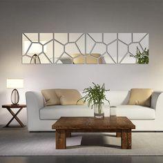 Mirrored Stone Wall Decoration - Wall Art - www.taccitygoods.com - 6