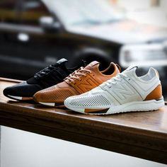 After unveiling a brand new silhouette called the 247, New Balance have now introduced an ultra-premium rendition known as the 247 Luxe. Built with full grain leather, the brand-new lifestyle sneaker is a perfect marriage of NB´s classic styles and a