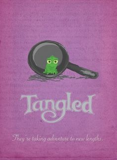 Tangled original poster idea