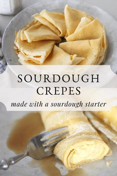 Sourdough Recipes, Sourdough Bread, Sourdough Pancakes, Crepes, Snacks Saludables, Homemaking, Cravings, Waffles, Curry