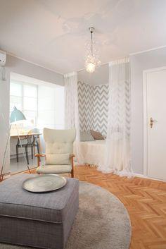mini-ap-magheru_Annterior_Designist3 Mini, Small Spaces, Decor Ideas, House Design, Interior, Room, Bedroom, Indoor, Rooms