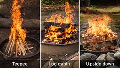 Learn the basics of building a campfire from REI experts.